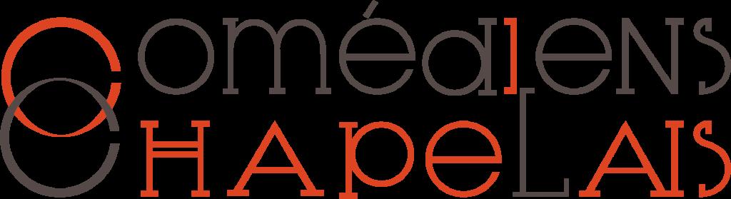 Comédiens Chapelais logo officiel - Réalisation Signé Marion