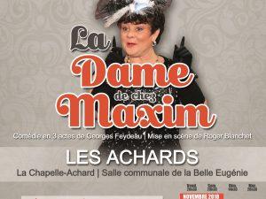 Interview «La Dame de chez Maxim» sur RCF Vendée