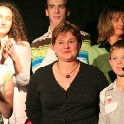 2008 - 30 ans - anniversaire - comédiens chapelais - Sarah Chaigne - Claudie Boudaud - Antoine Boudaud - Mathieu Chiffoleau - Marion Blanchet- Catherine Bruneau