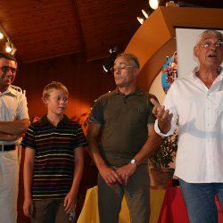 2009-Vernissage - expo - achards tourisme - Comédiens Chapelais - Jean Dieu - Antoine Boudaud - Gilbert Ravon - Roger Blanchet