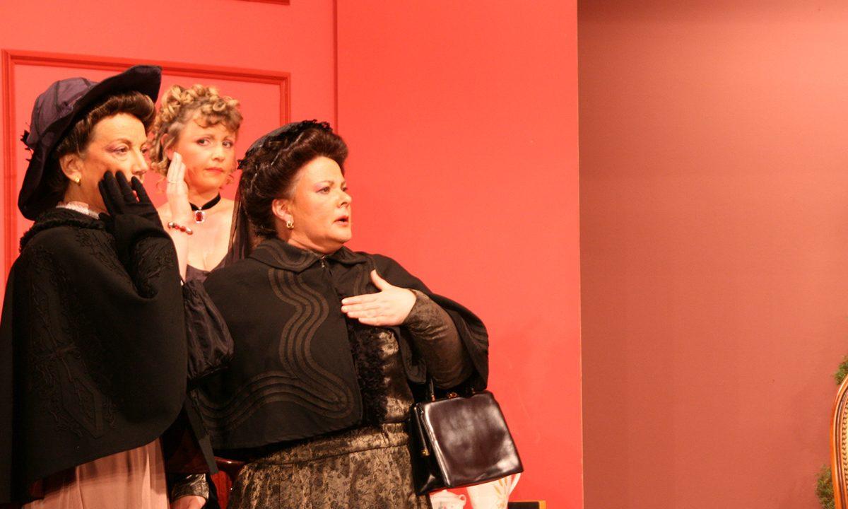 2013 - les Comédiens Chapelais - Vendée - Le Bourgeon - Sylvie Rabiller - Claudie Boudaud - Catherine Bruneau