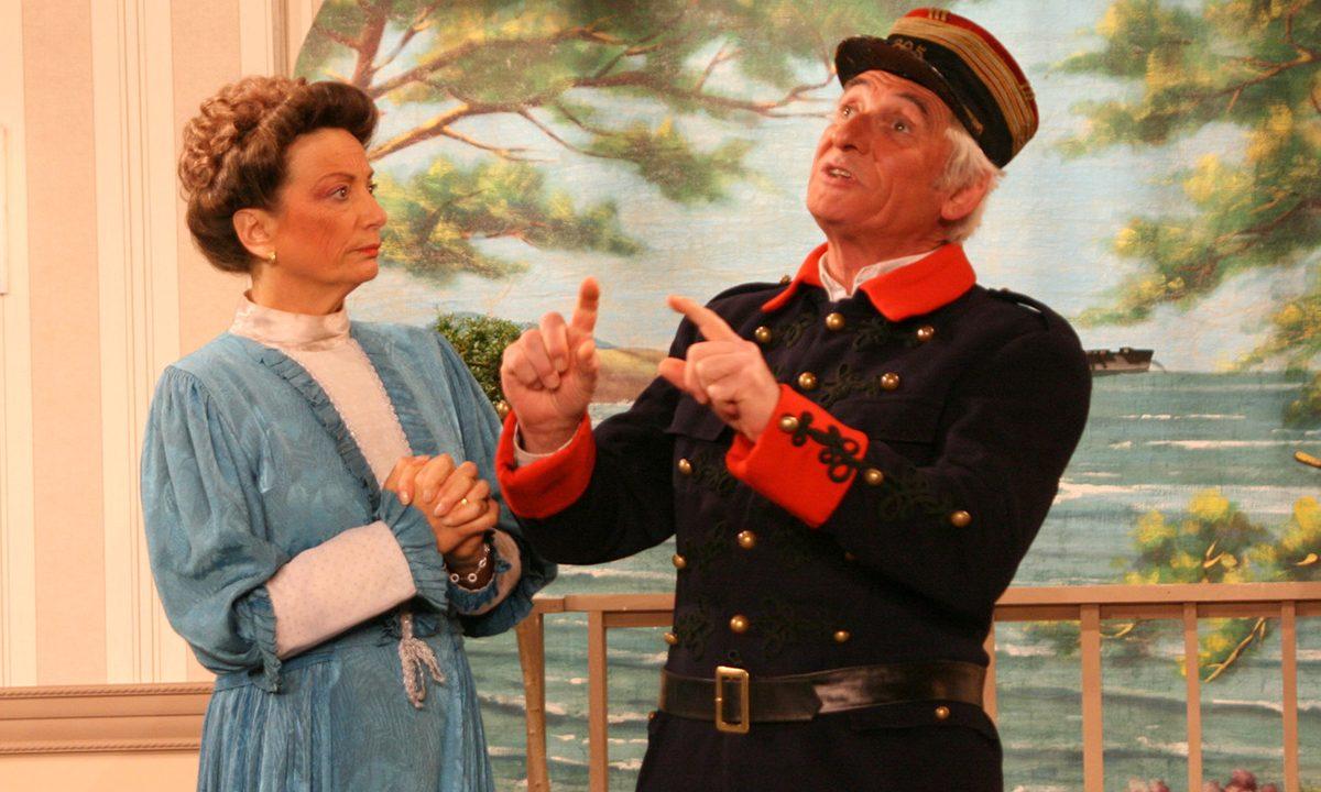 2013 - les Comédiens Chapelais - Vendée - Le Bourgeon - Catherine Bruneau - Roger Blanchet