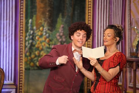 2014 - les comédiens chapelais - un chapeau de paille d'Italie - Adrien Chaigne - Catherine Bruneau
