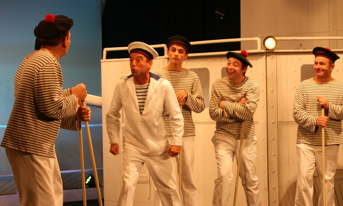2016-Trois Jeunes Filles Nues - vendée - théâtre - Bruno Gadais - Nthan Violleau - Guillaume Bret - Patrice Chaigne