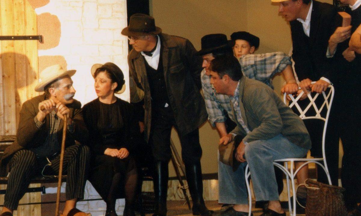 Les Comédiens Chapelais - La Femme du Boulanger - 2004 - Luc Bouron - Pierrette Rouillé - Joseph Craipeau - Bernard Rouillé - Luc Durand - Paul Boudaud - François Blanchet - Bruno Dubé