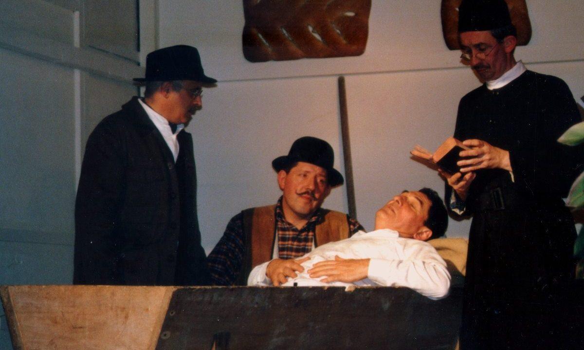 Les Comédiens Chapelais - La Femme du Boulanger - 2004 - Joseph Craipeau - Yannick Caillonneau - Roger Blanchet - Bruno Dubé