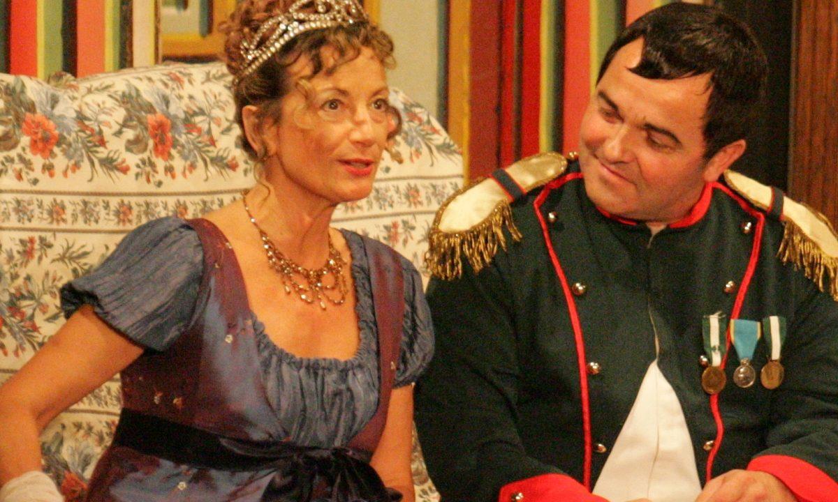 Les Comédiens Chapelais - Madame Sans Gêne - 2008 - Catherine Bruneau - Thierry Boursereau