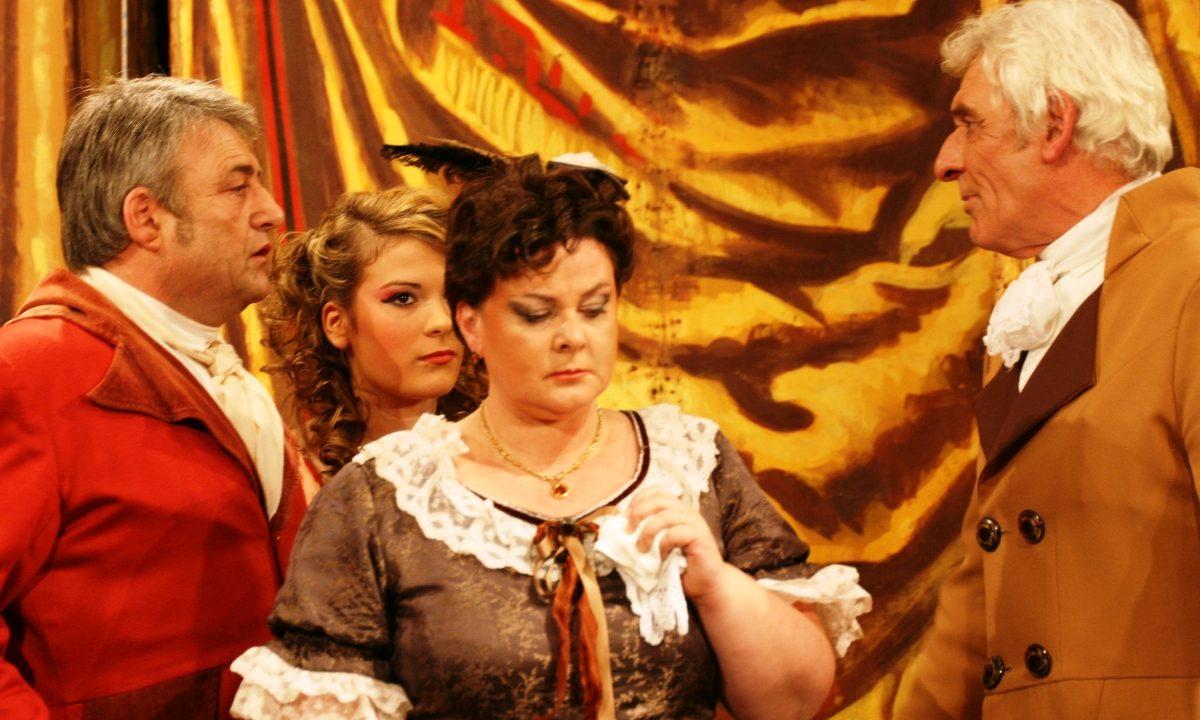 Les Comédiens Chapelais - Le comte de Monte-Cristo - 2012 - Claudie Boudeau - Julie Chiffoleau - Bernard Rouillé - Roger Blanchet