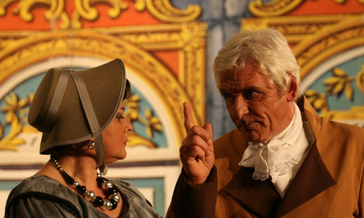 Les Comédiens Chapelais - Le comte de Monte-Cristo - 2012 - Claudie Boudeau - Roger Blanchet