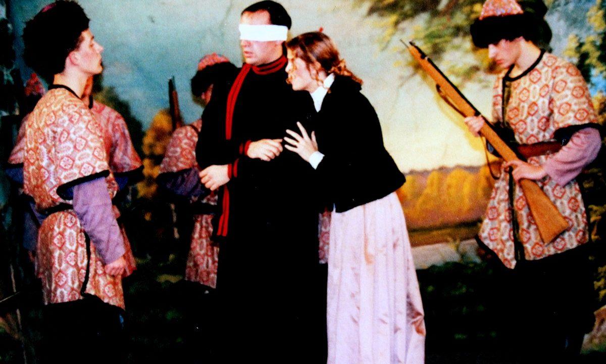 Les Comédiens Chapelais - Michel Strogoff - 2001 - Thomas Blanchet - Hélène Bruneau - David Praud - Aurélien Gaudin