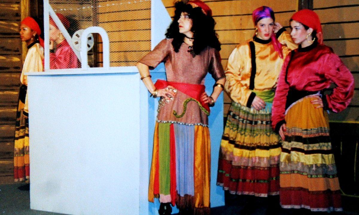 Les Comédiens Chapelais - Michel Strogoff - 2001 - Maryline Retail - Caroline Craipeau - Justine Bizet