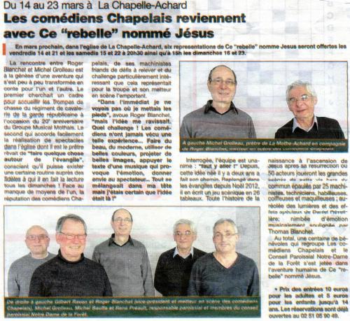 Journal Des Sables - Mars 2014
