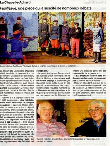 Ouest France - Février 2016
